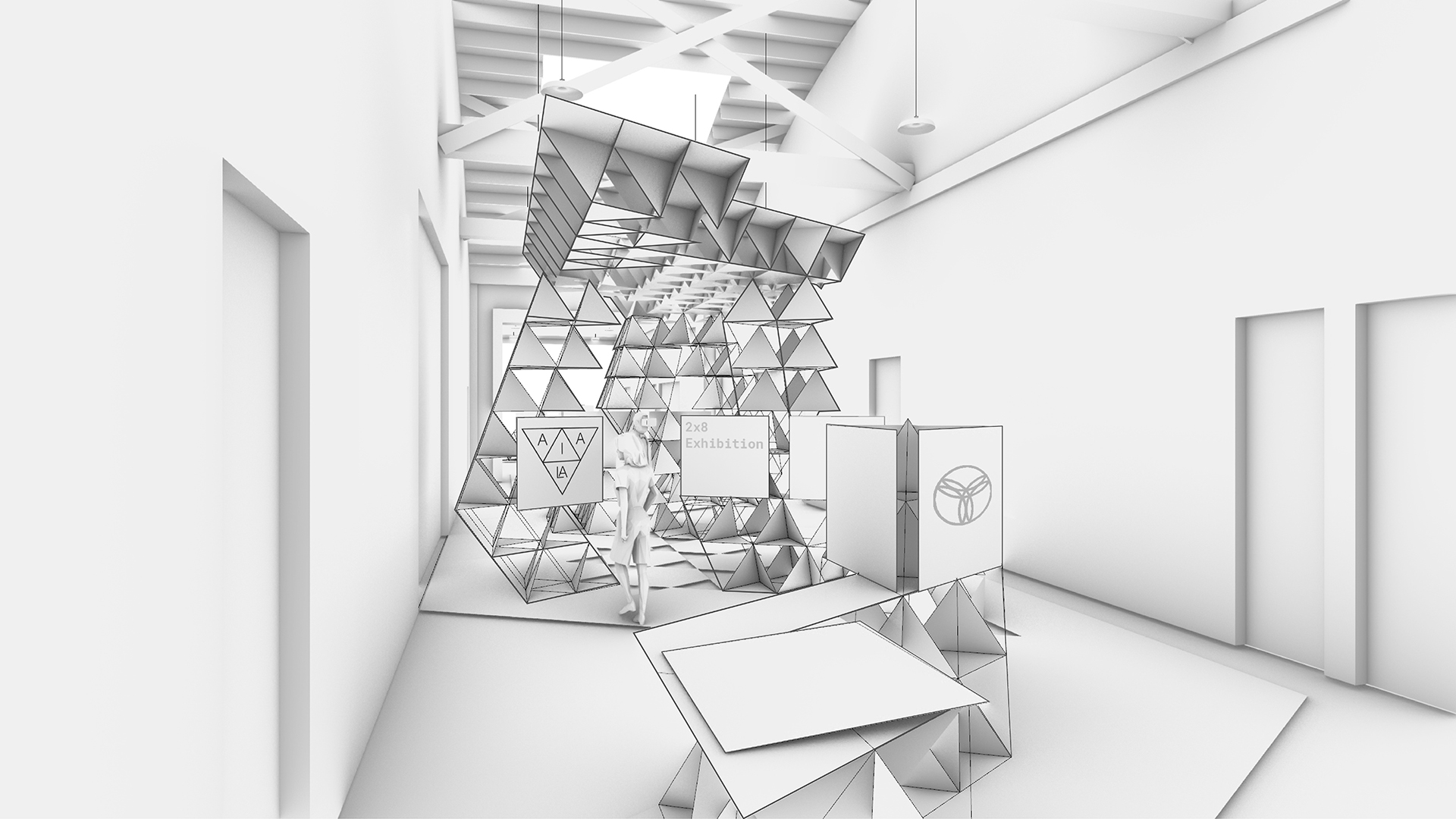 AIA_LA-2×8 Exhibition Design