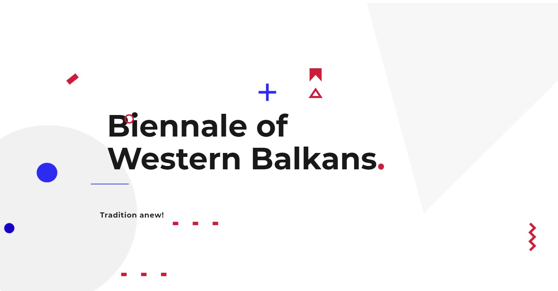 Biennale of Western Balkans 2020
